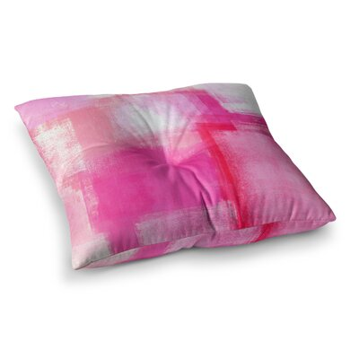 Running Late by CarolLynn Tice Floor Pillow Size: 26 x 26