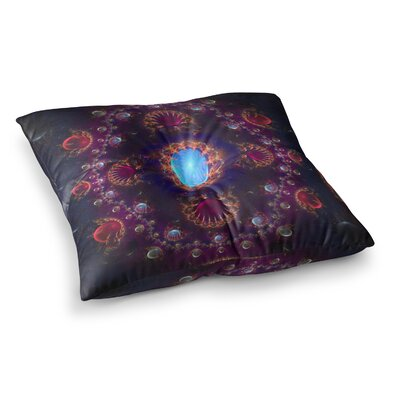 Royal Jewels by Cvetelina Todorova Floor Pillow Size: 23 x 23