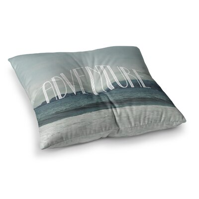 Adventure Photography by Chelsea Victoria Floor Pillow Size: 23 x 23
