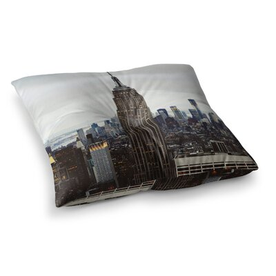 New York Stories Urban Travel by Chelsea Victoria Floor Pillow Size: 26 x 26