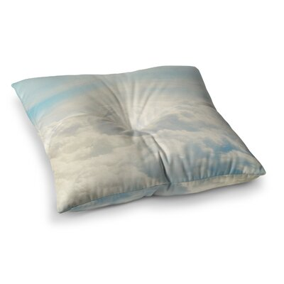 Life is But a Dream Nature by Chelsea Victoria Floor Pillow Size: 26 x 26