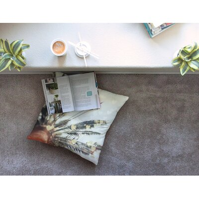 California Love Bokeh Nature by Chelsea Victoria Floor Pillow Size: 23 x 23