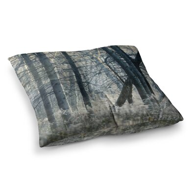Out of the Woods Nature Photography by Chelsea Victoria Floor Pillow Size: 26 x 26