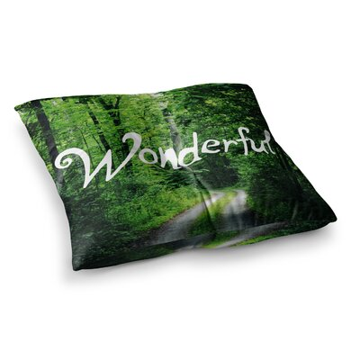 Wonderful Nature by Chlesea Victoria Floor Pillow Size: 26 x 26