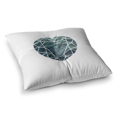 Ocean Love Photography by Chelsea Victoria Floor Pillow Size: 23 x 23