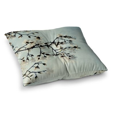 Bloom Photography Nature by Chelsea Victoria Floor Pillow Size: 23 x 23