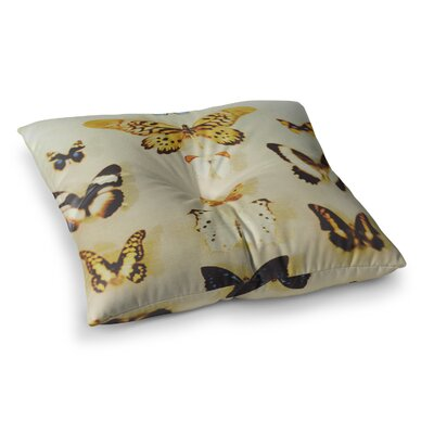 The Butterfly Collection Photography by Chelsea Victoria Floor Pillow Size: 23 x 23