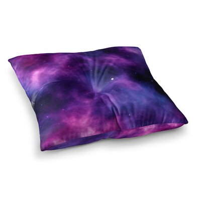 Infinity Fantasy by Chelsea Victoria Floor Pillow Size: 23 x 23
