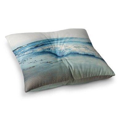 Beyond the Sea Coastal by Chelsea Victoria Floor Pillow Size: 23 x 23