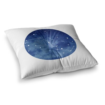 Ursa Major Celestial by Chelsea Victoria Floor Pillow Size: 23 x 23