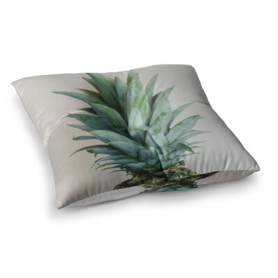 The Pineapple by Chelsea Victoria Floor Pillow Size: 26 x 26