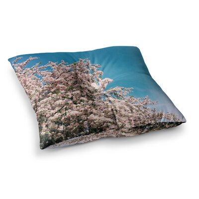 Blossom Tree by Chelsea Victoria Floor Pillow Size: 23 x 23