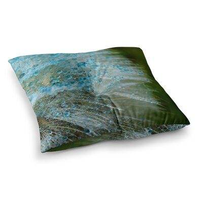 Rain Dandelion by Ginkelmier Floor Pillow Size: 26 x 26