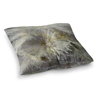 Dew on Dandelio by Ginkelmier Floor Pillow Size: 26 x 26