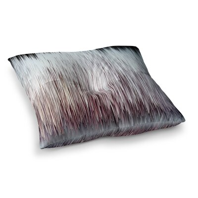 Planet Pixel Rose Digital by Ginkelmier Floor Pillow Size: 26 x 26