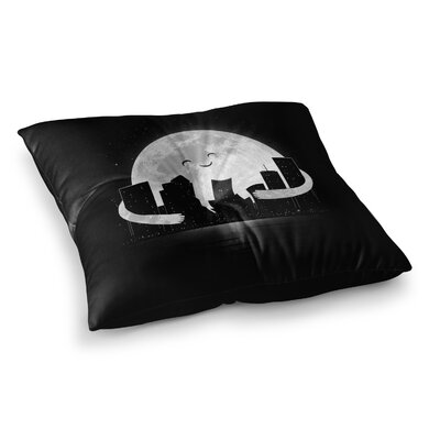 Goodnight by Digital Carbine Floor Pillow Size: 26 x 26