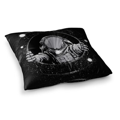 Hole Fantasy Digital by Digital Carbine Floor Pillow Size: 23 x 23