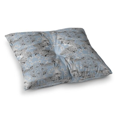 Versailles by DLKG Design Floor Pillow Size: 23 x 23