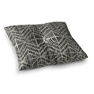 Tribal Drawings Chevron by DLKG Design Floor Pillow Size: 23 x 23