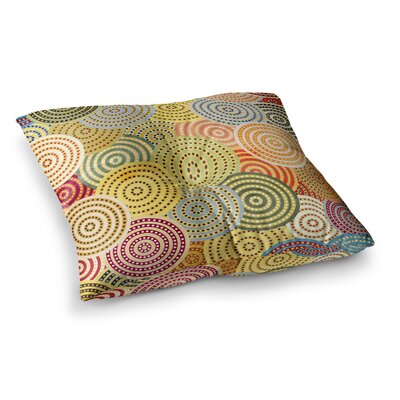 Matias Girl by Danny Ivan Floor Pillow Size: 26 x 26