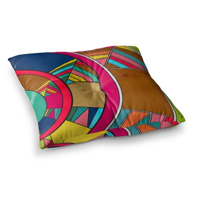 Lov Pattern by Danny Ivan Floor Pillow Size: 23 x 23