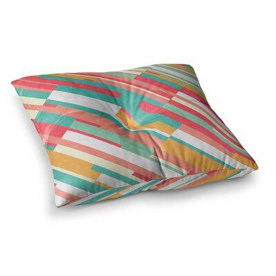 Droplines by Danny Ivan Floor Pillow Size: 23 x 23