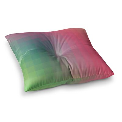 Gradient Print by Danny Ivan Floor Pillow Size: 26 x 26