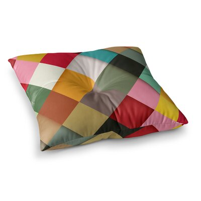 Colorful by Danny Ivan Floor Pillow Size: 26 x 26