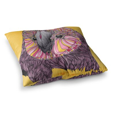 Lovely Owl by Danny Ivan Floor Pillow Size: 23 x 23