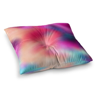 Bastard Abstract by Danny Ivan Floor Pillow Size: 26 x 26