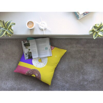 Donuts by Danny Ivan Floor Pillow Size: 26