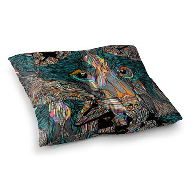 Fox by Danny Ivan Floor Pillow Size: 23