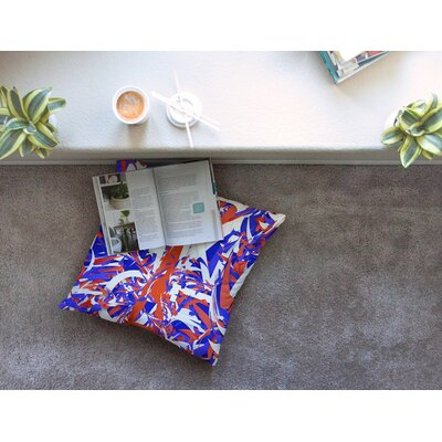France World Cup by Danny Ivan Floor Pillow Size: 26 x 26