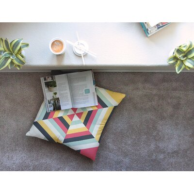 On Call by Danny Ivan Floor Pillow Size: 26 x 26