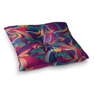 Wrong Past by Danny Ivan Floor Pillow Size: 23 x 23