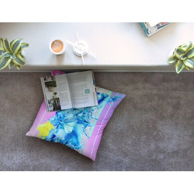 Alothea by Danny Ivan Floor Pillow Size: 23 x 23