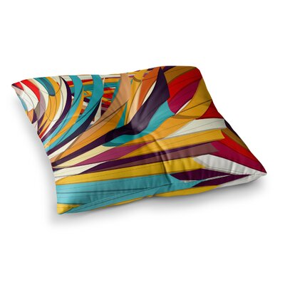Demy World by Danny Ivan Floor Pillow Size: 23 x 23