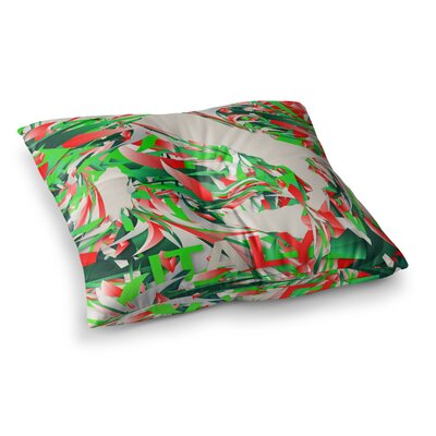 Italy World Cup by Danny Ivan Floor Pillow Size: 26 x 26