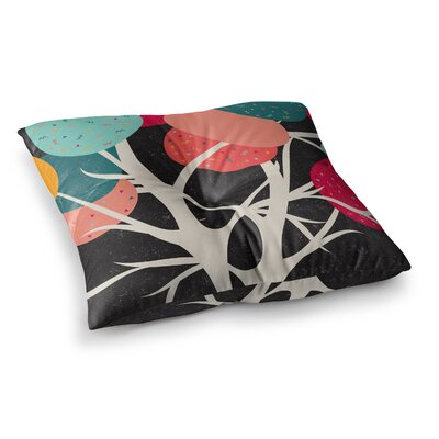 Lovely Tree Branches by Danny Ivan Floor Pillow Size: 23 x 23