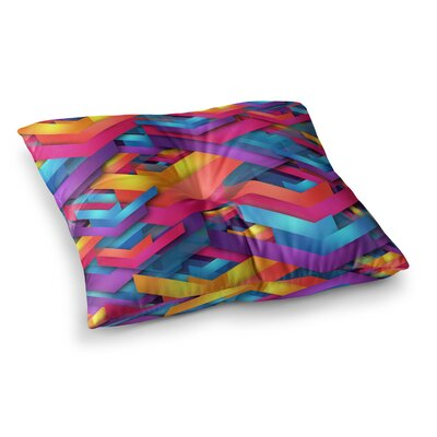 Own Luck by Danny Ivan Floor Pillow Size: 26 x 26