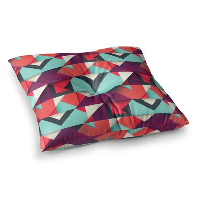 Shapes by Danny Ivan Floor Pillow Size: 26 x 26