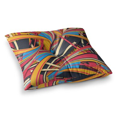 Slippery Slope by Danny Ivan Floor Pillow Size: 26 x 26