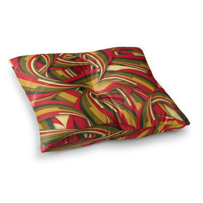 Excited Christmas by Danny Ivan Floor Pillow Size: 26