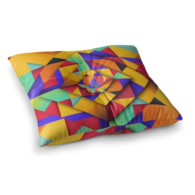 Shapes II Geometric by Danny Ivan Floor Pillow Size: 26