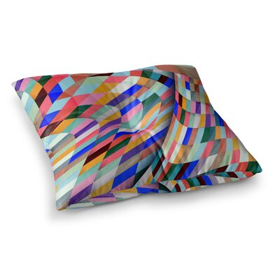 Different Geometric by Danny Ivan Floor Pillow Size: 26 x 26