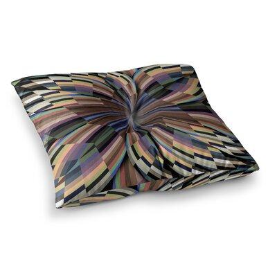 Love Affair Geometric by Danny Ivan Floor Pillow Size: 23 x 23