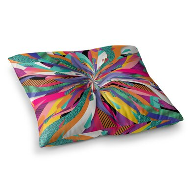Pop Abstract by Danny Ivan Floor Pillow Size: 23 x 23