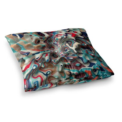 Weird Surface by Danny Ivan Floor Pillow Size: 23 x 23