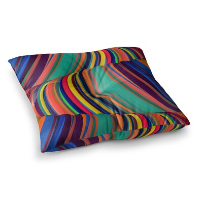 Mapel Digital by Danny Ivan Floor Pillow Size: 23 x 23