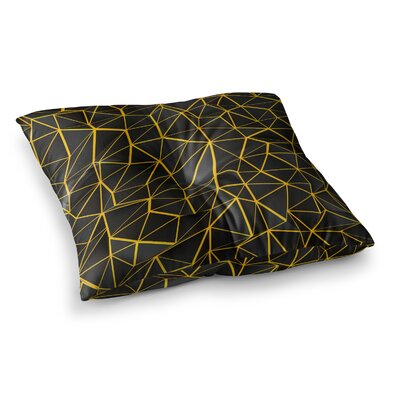 Poly by Danny Ivan Floor Pillow Size: 23 x 23